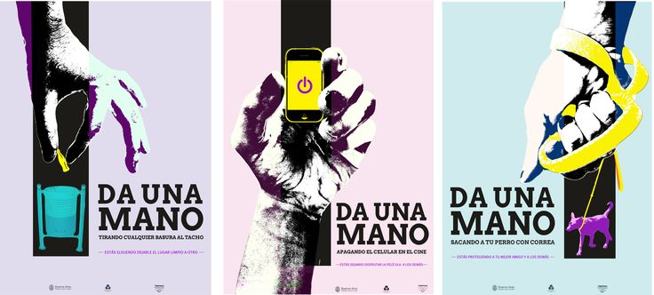 "Campaña social ""Respetuosa Argentina"" / Diseño II / Catedra Mazzeo"