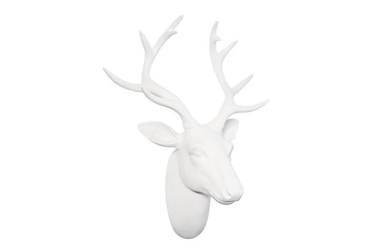 Testa di cervo bianca di Maison Du Monde