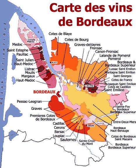 """Utile pour s'y retrouver dans cette """"jungle"""" des vins de Bordeaux"""
