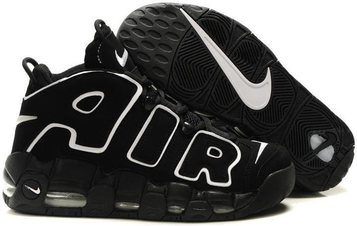 0059c149a8d7 Nike Air More Uptempo Scottie Pippen Shoes Black
