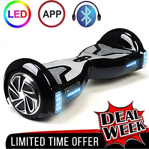 TOMOLOO HOVERBOARD, BEST & COOLEST & UNIQUE GIFT FOR YOUR LOVES • TOMOLOO is the trusted global leader of self balancing scooters manufacturers. • We have the global exclusive Self-balancing Design Patent. • We are privileged to have partnership with the world's most influential comp... more details available at https://perfect-gifts.bestselleroutlets.com/gifts-for-teens/skates-skateboards-scooters/product-review-for-tomoloo-self-balancing-scooter-ul2272-ce