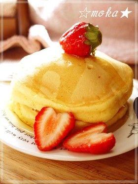 ふんわり❤分厚いパンケーキ