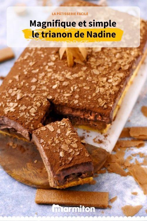 Trianon oder königliches Kuchenrezept. Ein schönes Gebäck und doch sehr …   – Gâteaux d'anniversaire
