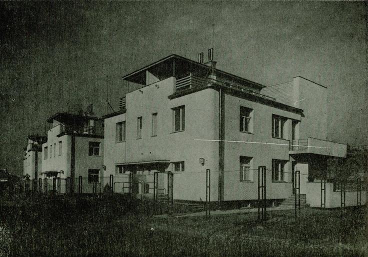 Bohdan Lachert, Józef Szanajca, Jan Reda & Roman Piotrowski, Warsaw, 1934-35