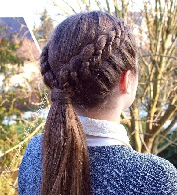 Best DIY Hairstyles Images On Pinterest Diy Hair Haircuts - Braid diy pinterest