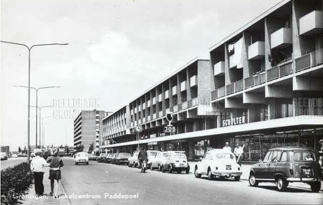 Zonnelaan Paddepoel Groningen 1975