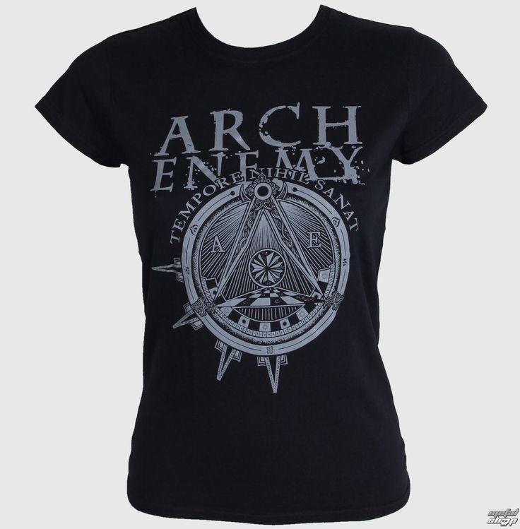 Damen T-Shirt Arch Enemy - Illuminati - BLK - RAZAMATAZ