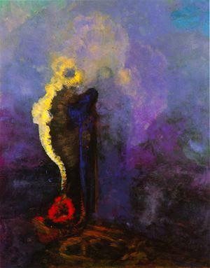 Le rêve - Odilon Redon 1905                                                                                                                                                                                 Plus