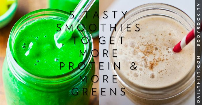 5 Tasty Smoothies To Get More Protein