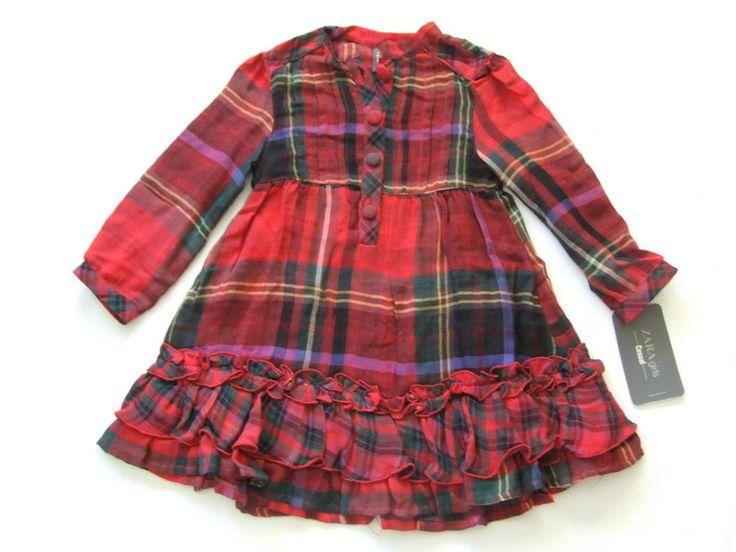 Ref. 1000657- Vestido - Zara- niña- Talla 3 años - 9€ - info@miihi.com - Tel. 651121480