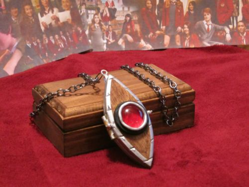 "HOUSE OF ANUBIS ""OPEN-UP"" HANDMADE REPLICA OF NINA'S EYE OF HORUS LOCKET         in Entertainment Memorabilia, Television Memorabilia, Merchandise & Promotional, Jewelry 