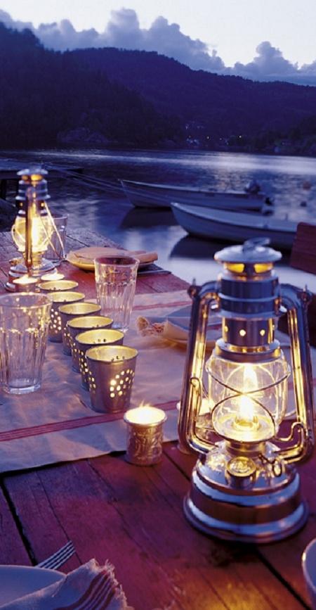 ,: Table Settings, Dinner, Ideas, Wedding, Outdoor, Place, Lanterns, Light