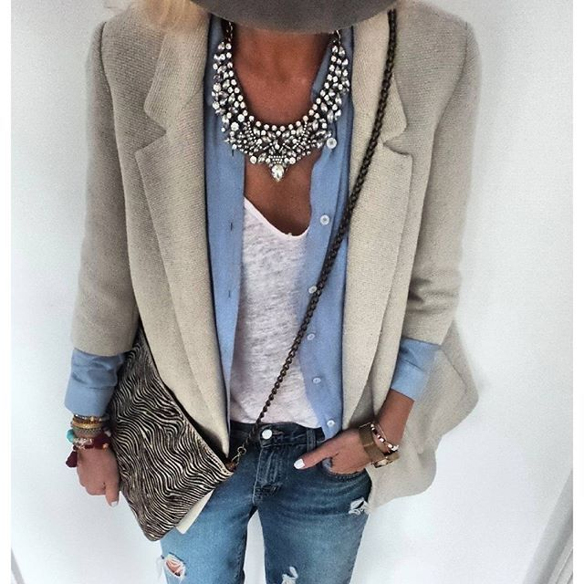 Vintage Glamour Statement Necklace #outfit #ootd #fashion ...