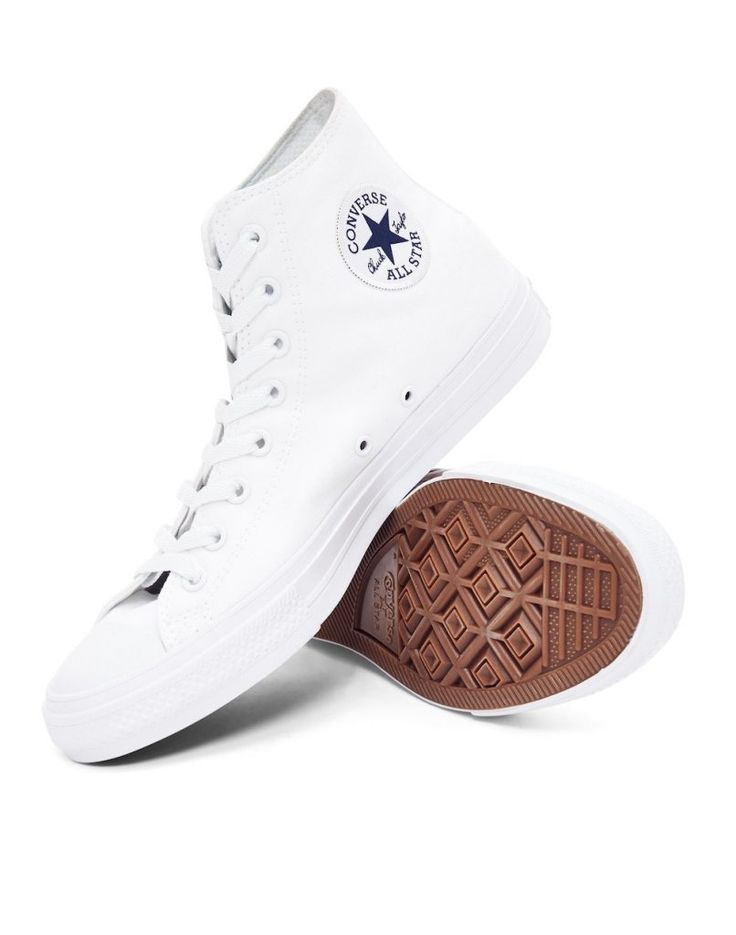 Converse White Trainers men