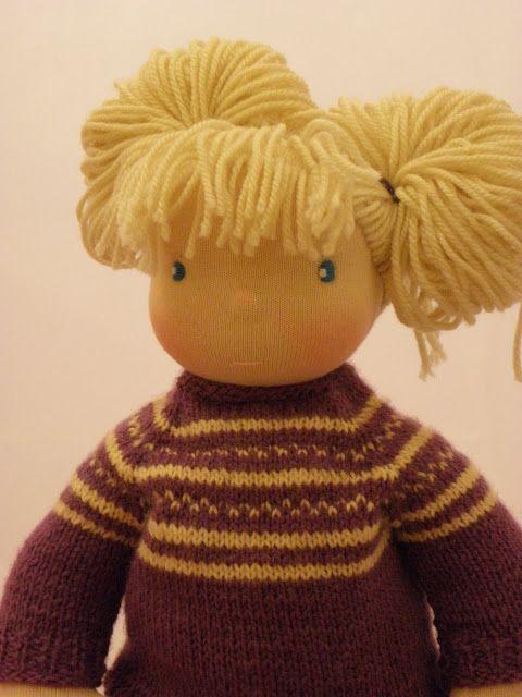 Lalki waldorfskie - LalaBella: Susan i herbatka z krasnalkami