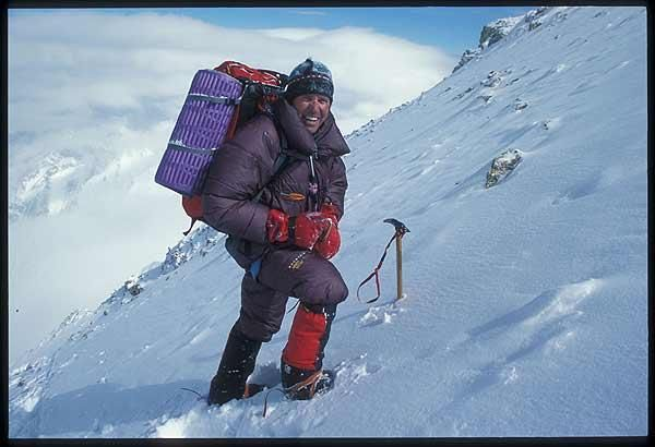 six-time Everest summiter and famed high-altitude climber Ed Viesturs