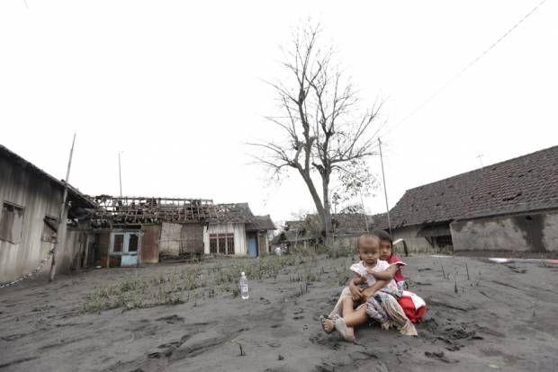 Dahsyatnya Kehancuran Akibat Letusan Gunung Kelud