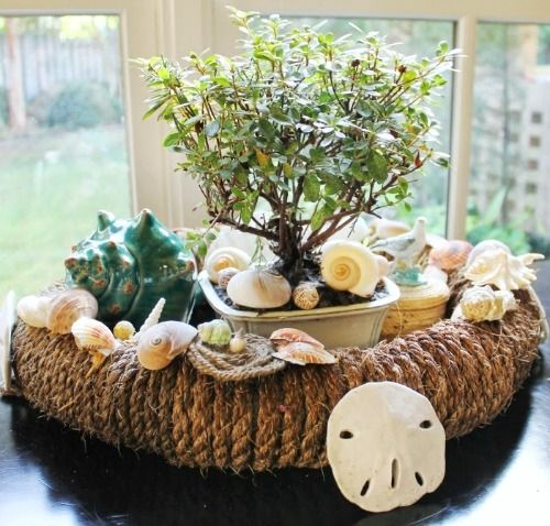 301 best images about coastal beach table decor for Where to buy nautical rope for crafts