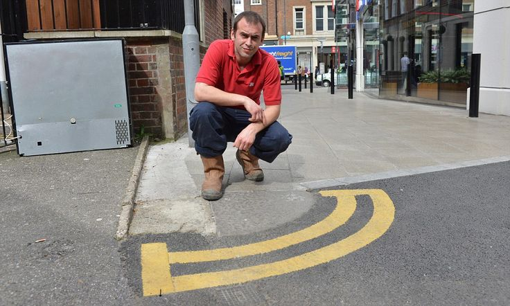 Are these Britain's most pointless double yellow lines? #DailyMail