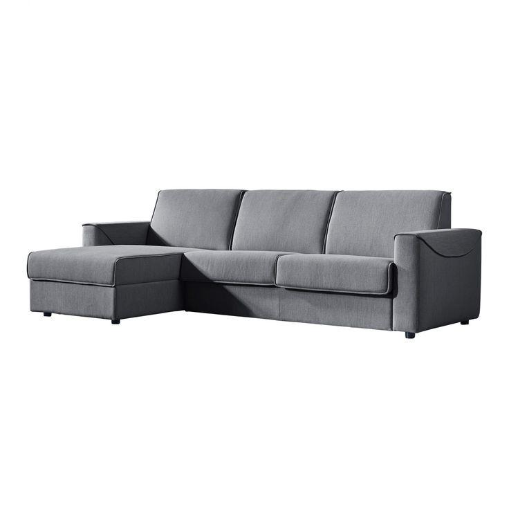 Chill Storage Sofa Bed Left Dark Grey - Sofas - MOE'S Wholesale
