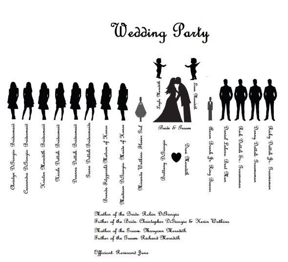 35 Best Printable Wedding Programs Images Free