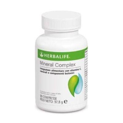 Mineral Complex : è un integratore di sali minerali con vitamina C, creato per ripristinare il naturale equilibrio minerale dell'organismo in combinazione con un consumo giornaliero di 2 litri di acqua al giorno. Riduce l'effetto buccia d'arancia sulla pelle,elimina i liquidi in eccesso.Questo prodotto Herbalife ha un'azione drenante e agisce su fianchi, gambe e addome. Per info: http://www.goherbalife.com/elenadellavella/it-IT