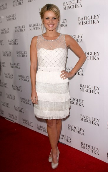 Celebs step out for Badgley Mischka openingPretty Dresses, Fringes Cocktails, Celebrities Style, Cocktails Dresses, Celeb Step, Mischka Open, Beads Fringes, Random Pin, Badgley Mischka