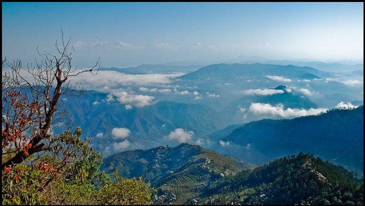 Himalaya View from Binsar, Uttarakhand