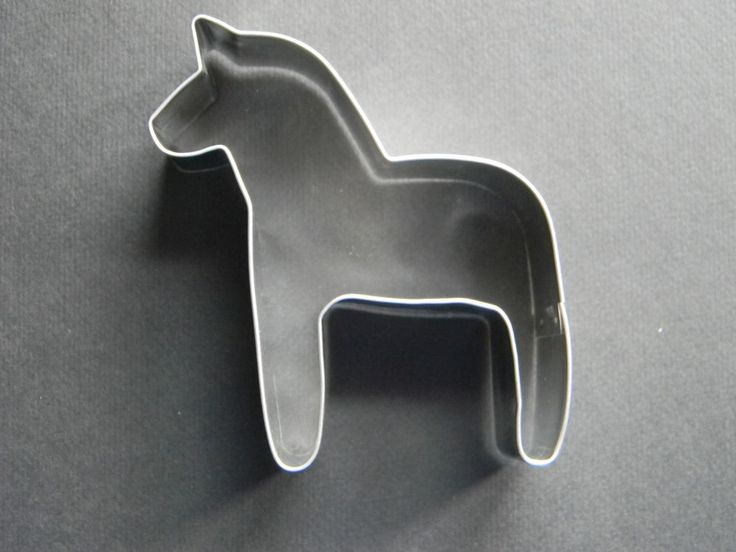 swedish cookie cutters | Scandinavian Sweden Swedish Dala Horse Cookie Cutter #186HOR | eBay