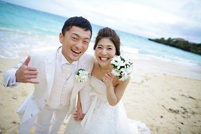 ビーチフォトウエディング HAPPY WEDDING