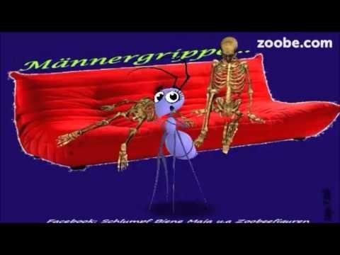 Gute Nacht - Ein Küsschen, schick ich dir Süße Träume Schlümpfe, Zoobe, Animation - YouTube