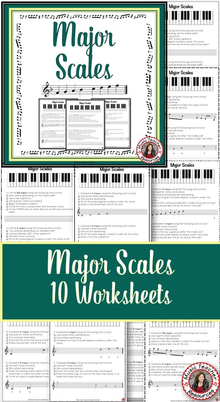 worksheet Read Theory Worksheets 633 best music theory images on pinterest education major scales worksheets and teaching sldes
