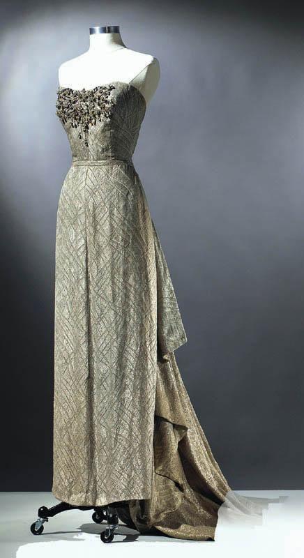 "worn yb Ethel Merman in ""Call Me Madam"""