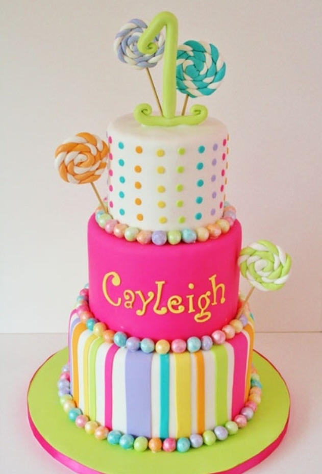 Cake Decorating Ideas With Lollies : 45 best images about C Lollipop Cake on Pinterest ...