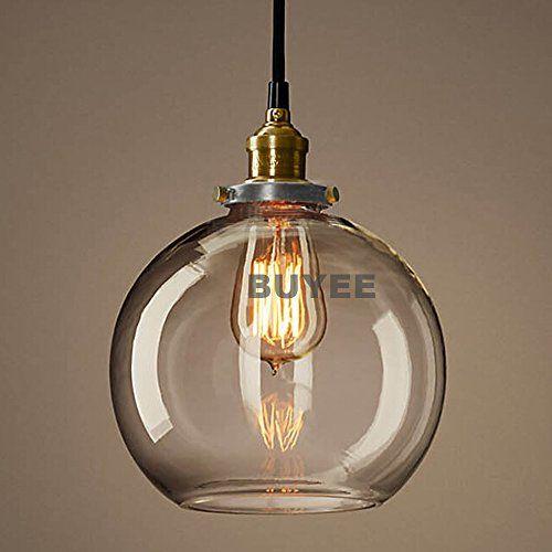 Buyee Klassiker Industrie Loft Metal Glas Kronleuchter Hngeleuchte Pendelleuchte Moderne Hngeleuchten Runde Schwarz Lampe Funnel Mehr