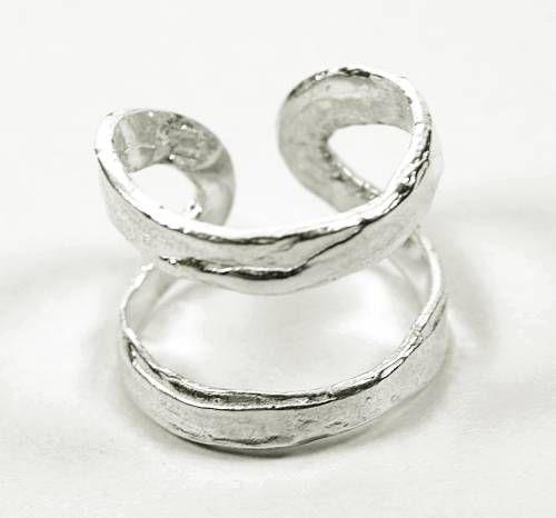 Sortija artesana rústica, joyas artesanales, anillo rústico