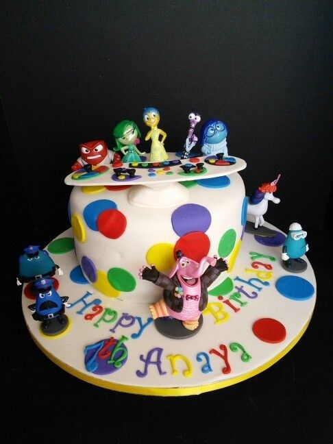 Southern Blue Celebrations: Inside Out Cake & Cookie Ideas