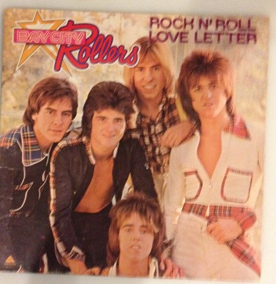 Bay City Rollers Vinyl Record Rock and Roll by outpostrecordshop