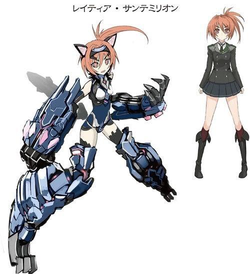 Hundred Light Novel Characters Latia Saint Emilion Anime Anime