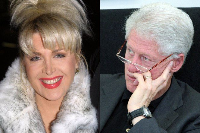 Stare down with Hillary! Gennifer Flowers accepts Trump's invitation to attend debate