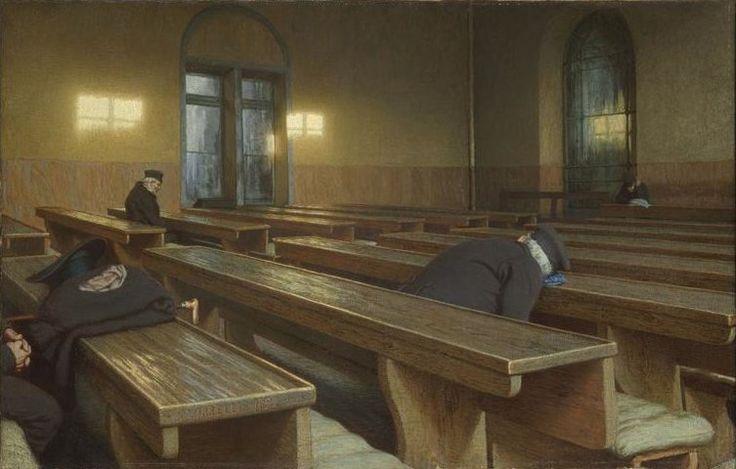 Angelo Morbelli - Giorno di festa al Pio Albergo Trivulzio