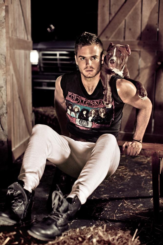 Dutch Singer & Model Jim Bakkum