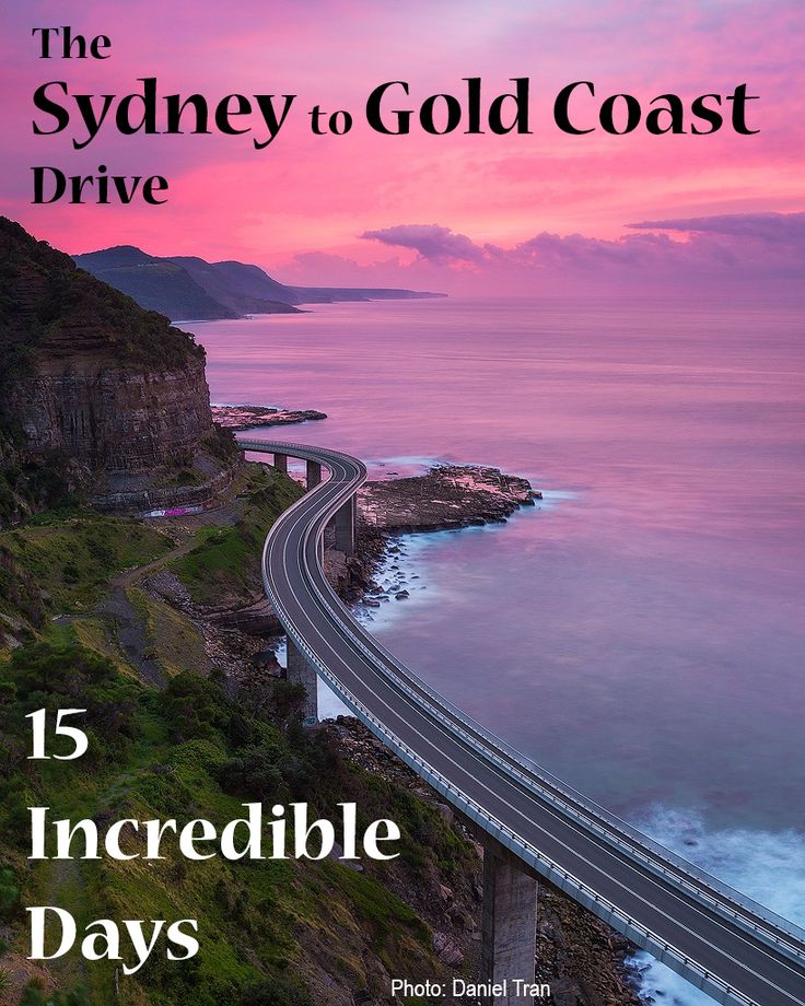 Australia Road Trip Planner. The Sydney to Gold Coast Drive on Australia's east coast. A day by day itinerary including free camping, beach camping, five star camping, highlights, and scenic routes. #vanlife