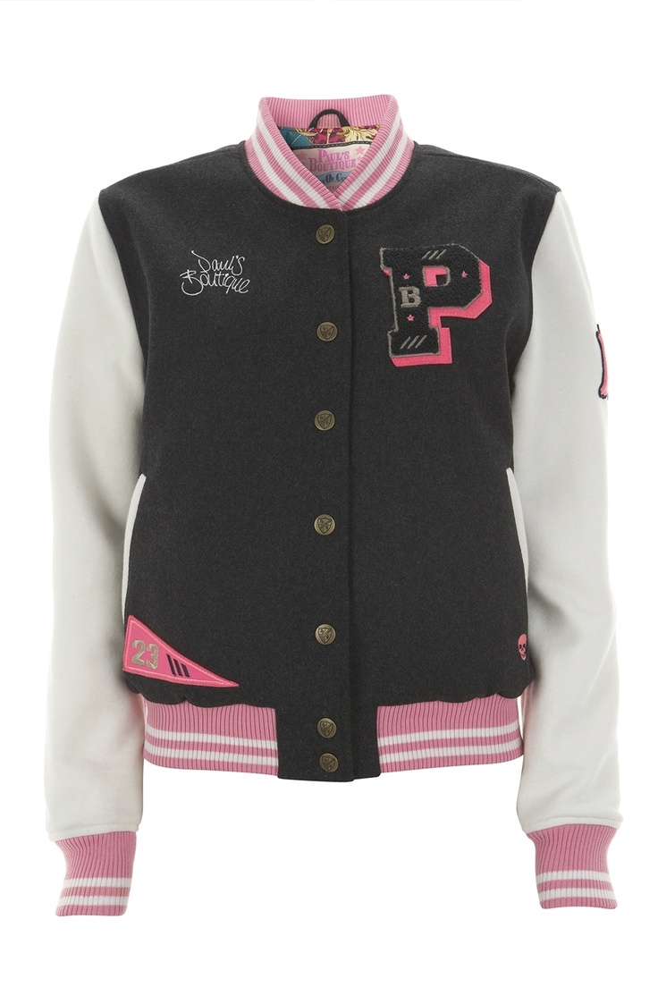 Paul's Boutique   Baseball Jacket in charcoal   Official web site