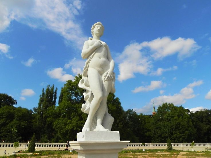 Białystok, Poland   Today I invite all to walk around my town. Now you can see a statue of Venus, renovated and located in the Palace Park Branicki.