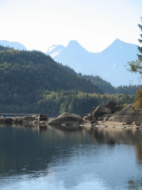 Hicks Lake in Sasquatch Provincial Park near Harrison Hot Springs, B.C.