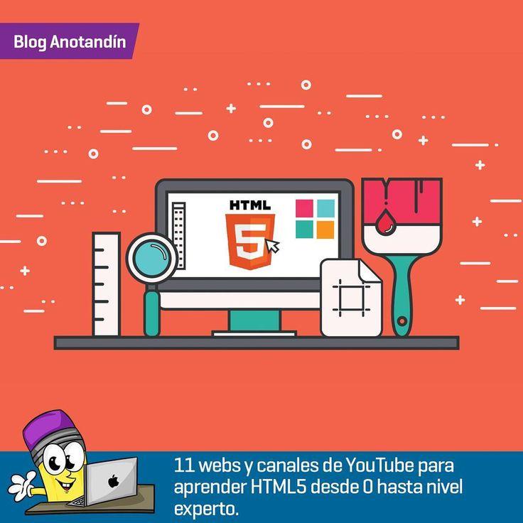 """1- Curso HTML5  en el canal de pildorasinformaticas el cual está compuesto por un total de 73 vídeos y nos enseña todo lo que tenemos que saber sobre este estándar.  2- Si entendéis inglés en edX publicaron la primera parte del curso """"HTML5 Coding Essentials and Best Practices"""" desarrollado por el World Wide Web Consortium.  3- TheCodePlayer Se trata de una completa página web repleta de tutoriales con los que aprender desarrollo en HTML5 y otros lenguajes de programación.  4- Curso de…"""
