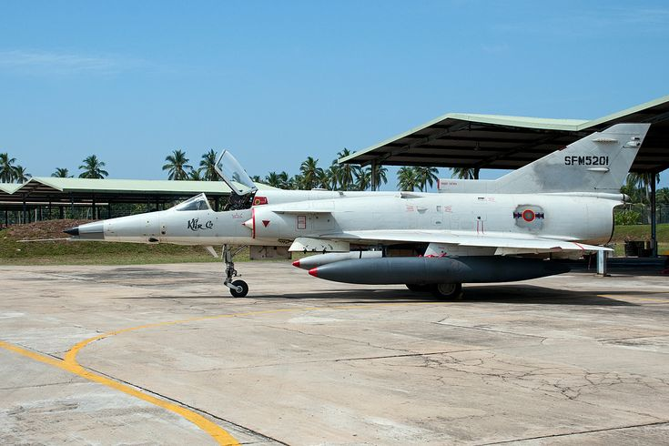 Sri Lanka Air Force IAI Kfir.