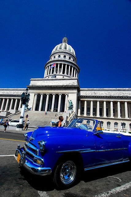 Havana, Cuba.  I would take this car over any car here today
