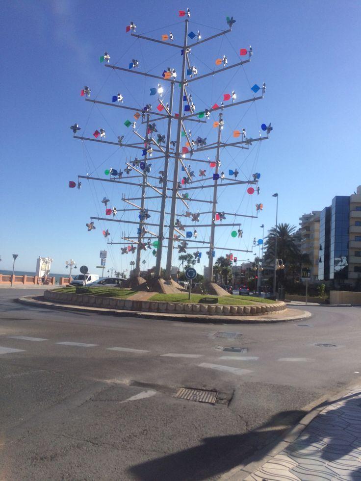 Windmill roundabout Benalmadena